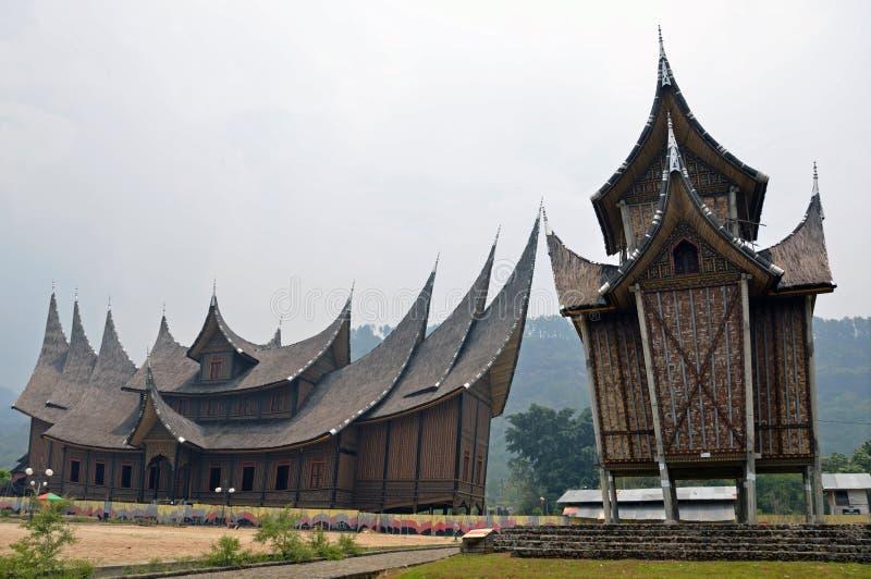 Architettura di Pagaruyung fotografie stock libere da diritti