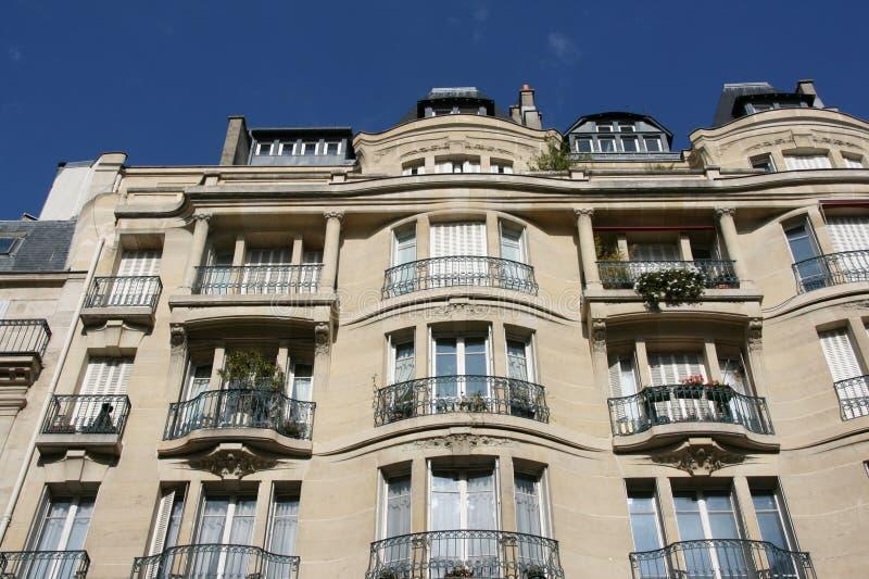 Architettura di Parigi fotografie stock