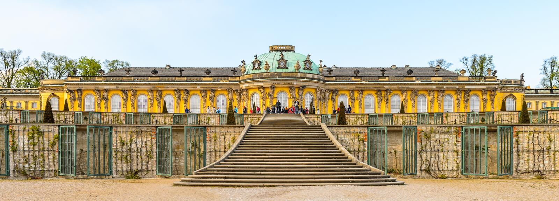Architettura di Potsdam, Germania immagini stock