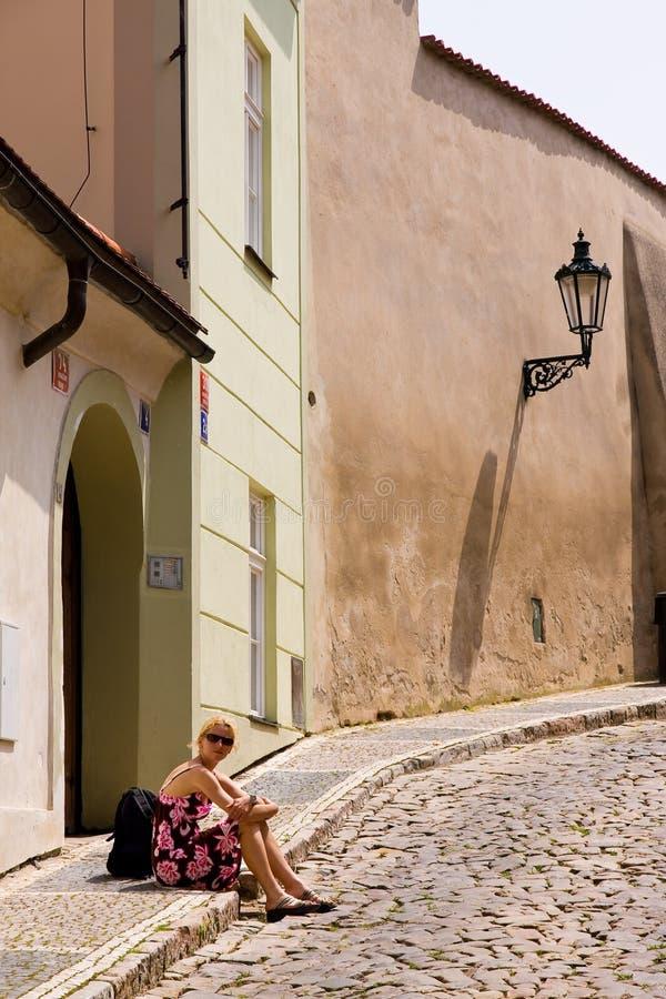 Architettura di Prag fotografie stock libere da diritti