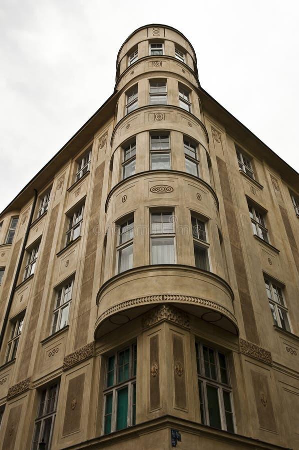 Architettura di Praga del cilindro immagini stock libere da diritti
