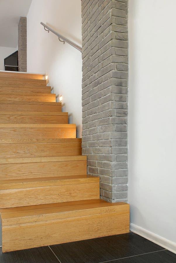 Architettura di progettazione delle scale fotografia stock libera da diritti
