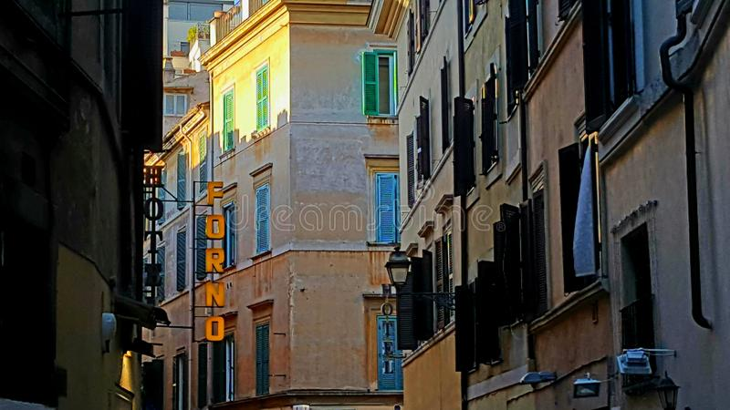 Architettura di Roma, Italia immagine stock libera da diritti