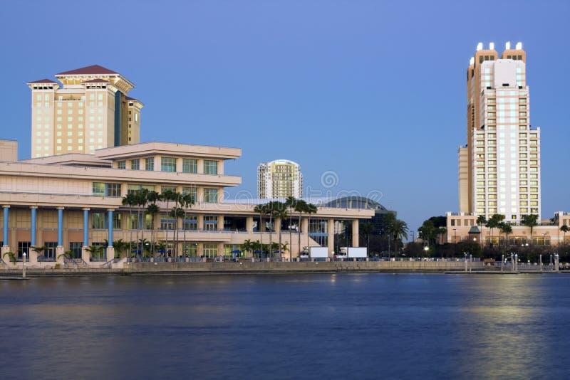 Architettura di Tampa fotografia stock libera da diritti