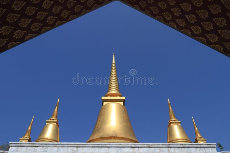 Architettura di Thailiand fotografia stock