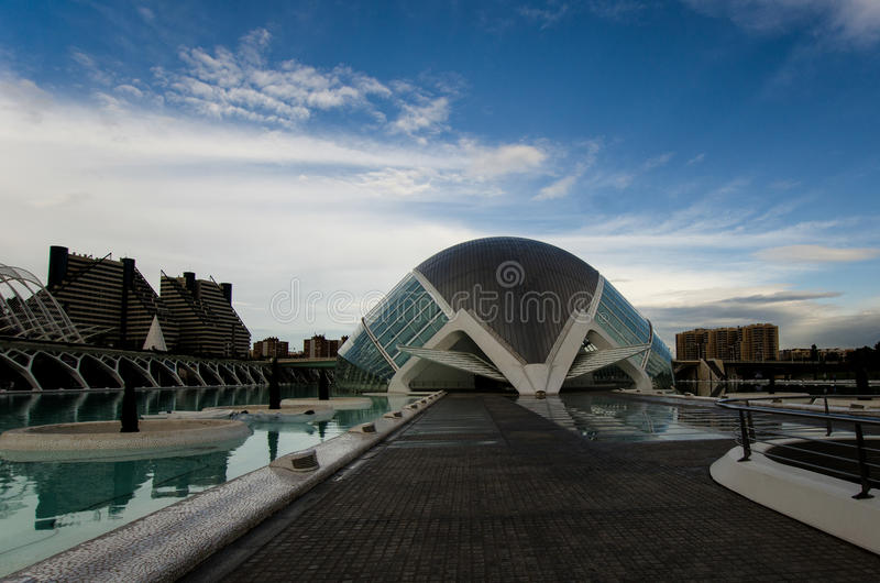 Architettura di Valencia, Spagna immagine stock