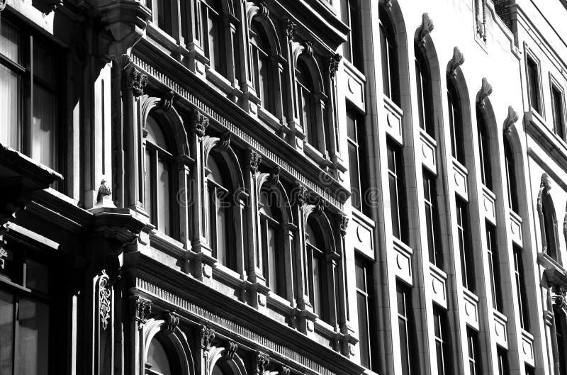 Architettura di vecchia Montreal fotografia stock libera da diritti