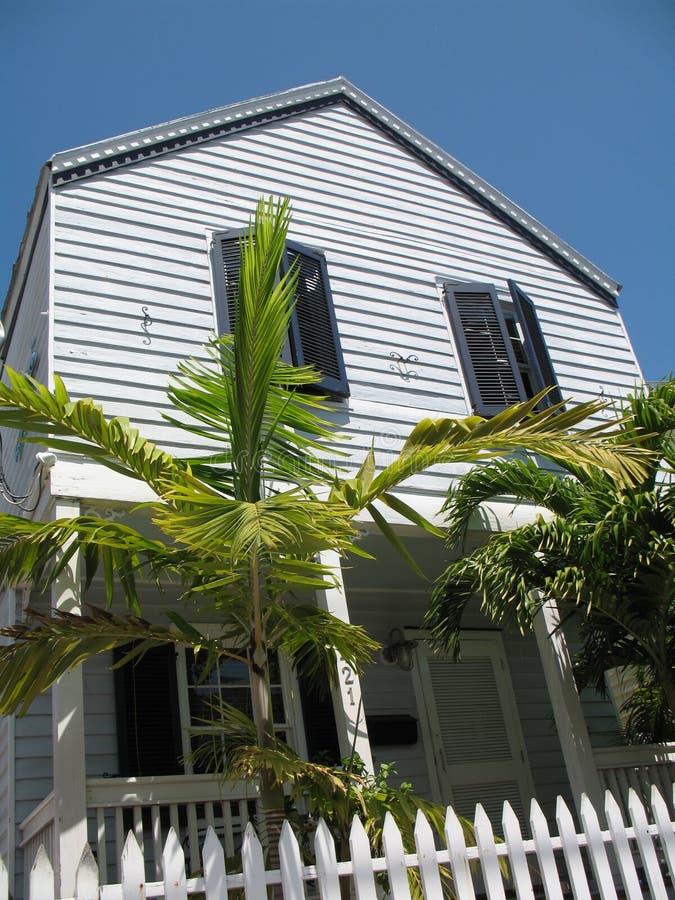 Architettura domestica tipica Key West Florida fotografie stock