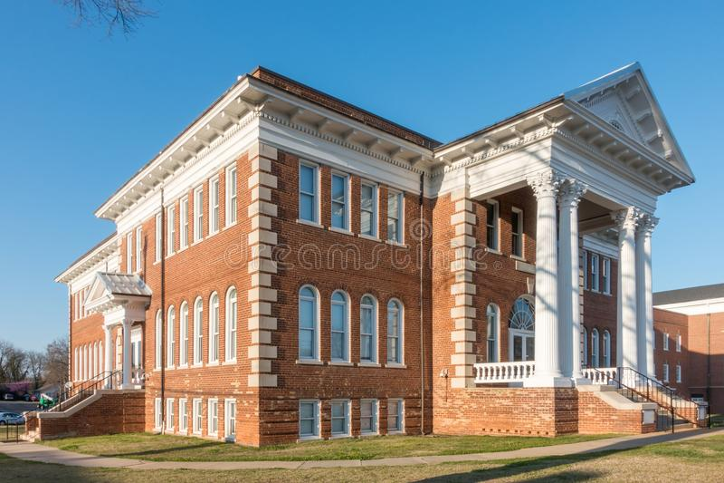 Architettura e costruzioni in unione Carolina del Sud immagine stock libera da diritti