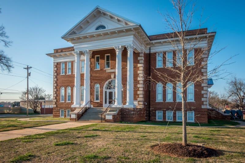 Architettura e costruzioni in unione Carolina del Sud fotografia stock libera da diritti