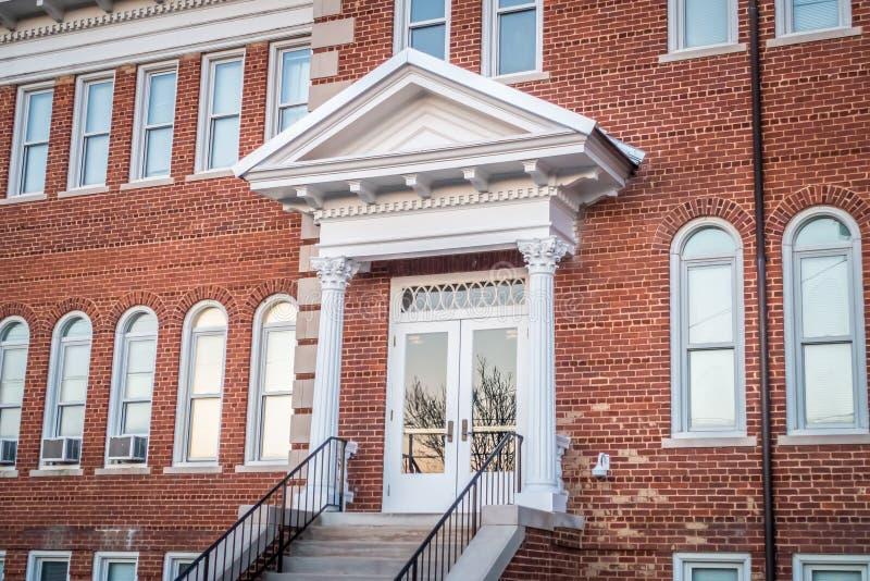 Architettura e costruzioni in unione Carolina del Sud immagini stock libere da diritti