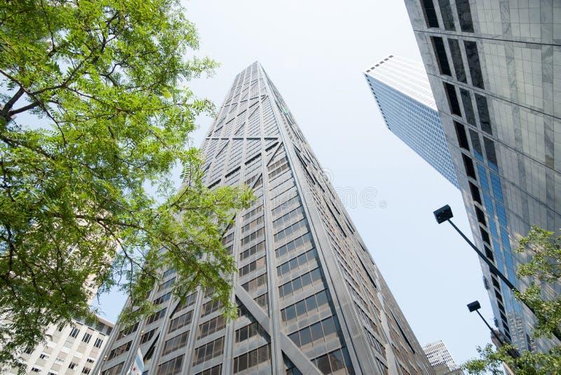 Architettura e paesaggi urbani di Chicago, Illinois, U.S.A. immagine stock libera da diritti