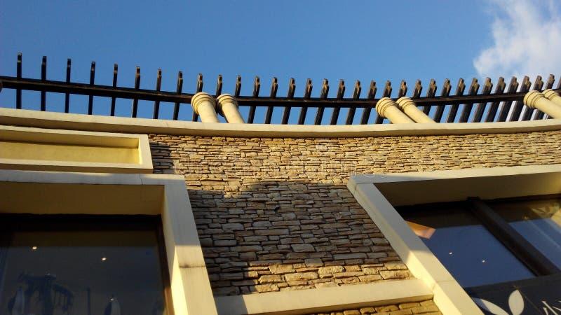 Architettura europea a Pechino fotografia stock