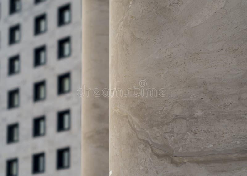 Architettura fascista fotografie stock libere da diritti