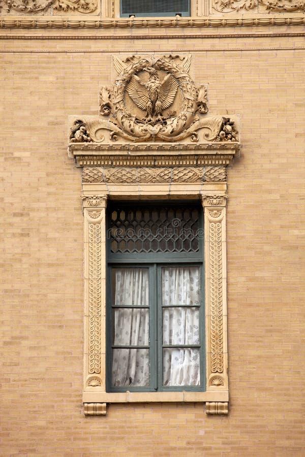 Architettura: Finestra decorata fotografia stock libera da diritti