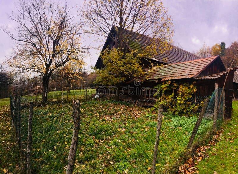 Architettura generica in Slovacchia fotografia stock