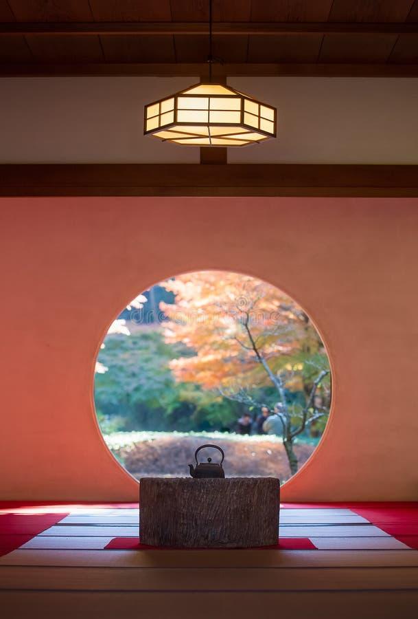 Architettura giapponese e giardino di traditonal immagine for Architettura giapponese