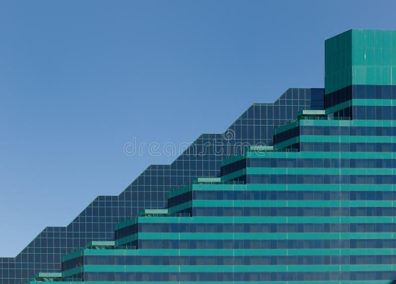 Architettura grafica verde immagini stock
