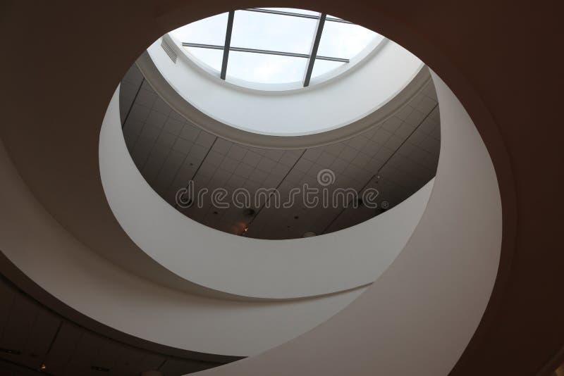 Architettura interna moderna fotografia stock