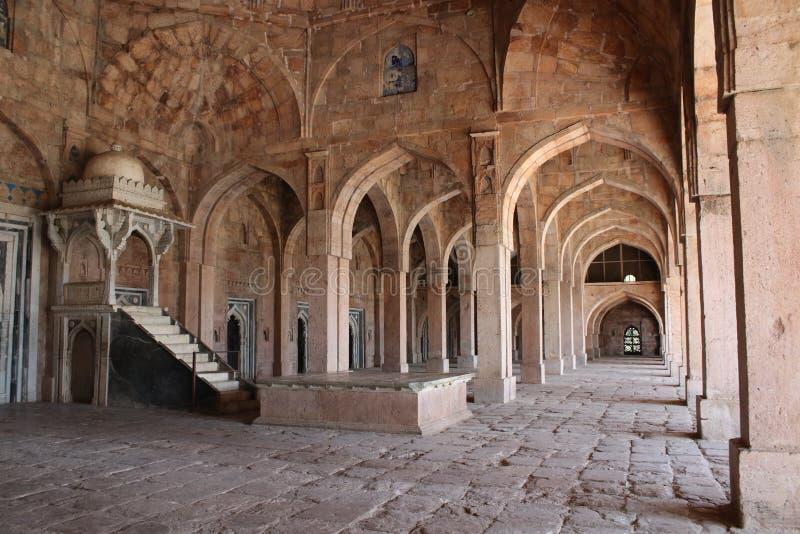Architettura islamica, masjid di jami, mandu, Madhya Pradesh, India fotografie stock libere da diritti