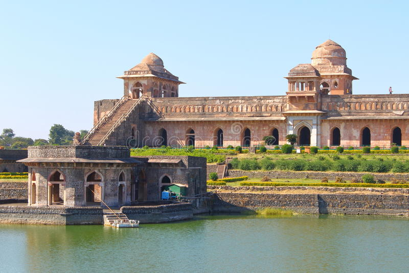 Architettura islamica storica, mandav, Madhya Pradesh, India fotografie stock
