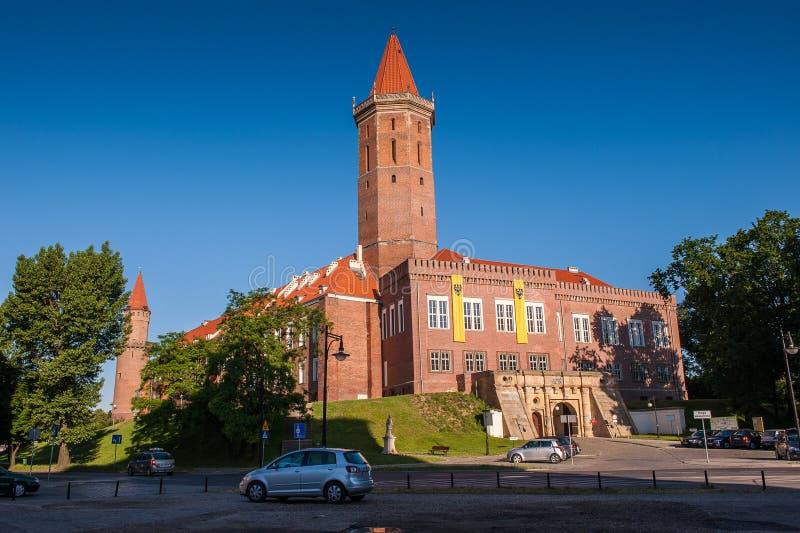 Architettura in Legnica poland fotografia stock libera da diritti