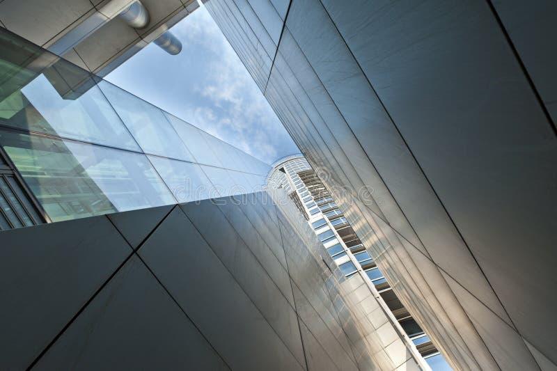 Architettura moderna astratta immagini stock
