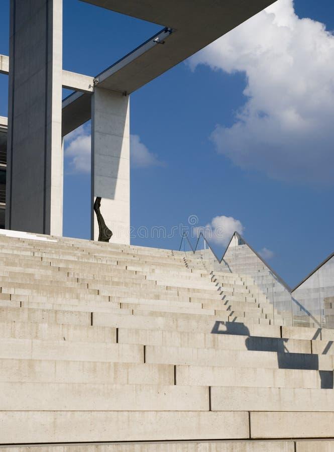 Architettura moderna a Berlino immagini stock