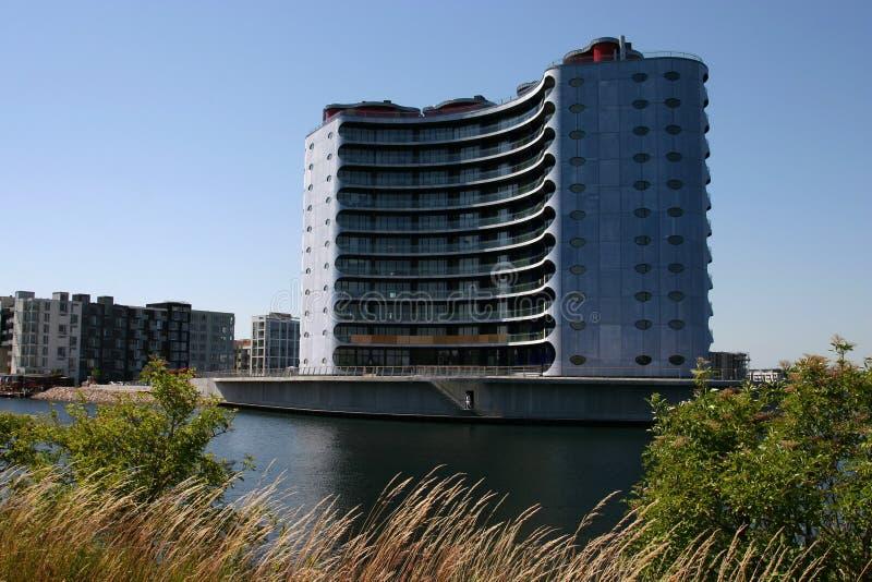 Architettura moderna a Copenhaghen fotografia stock