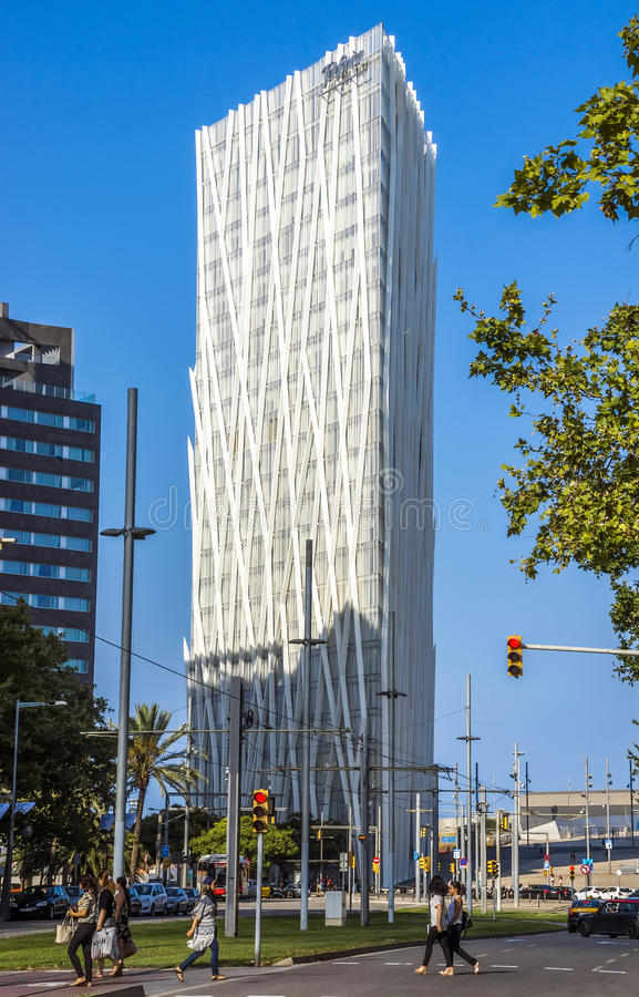 Architettura moderna di barcellona immagine editoriale for Architettura moderna barcellona
