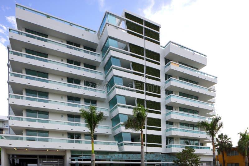 Architettura moderna Miami Beach immagine stock