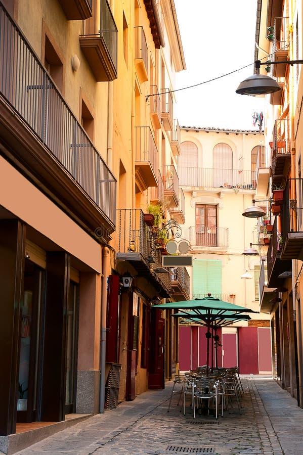 Architettura Olot Spagna fotografia stock libera da diritti