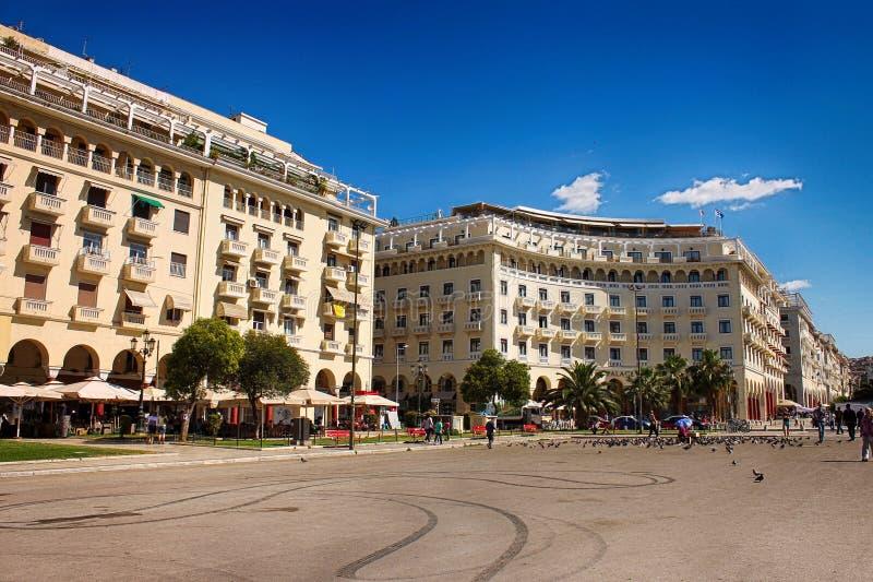 Architettura a Salonicco fotografia stock libera da diritti