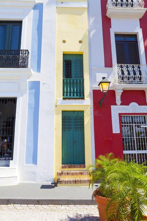 Architettura a San Juan fotografia stock