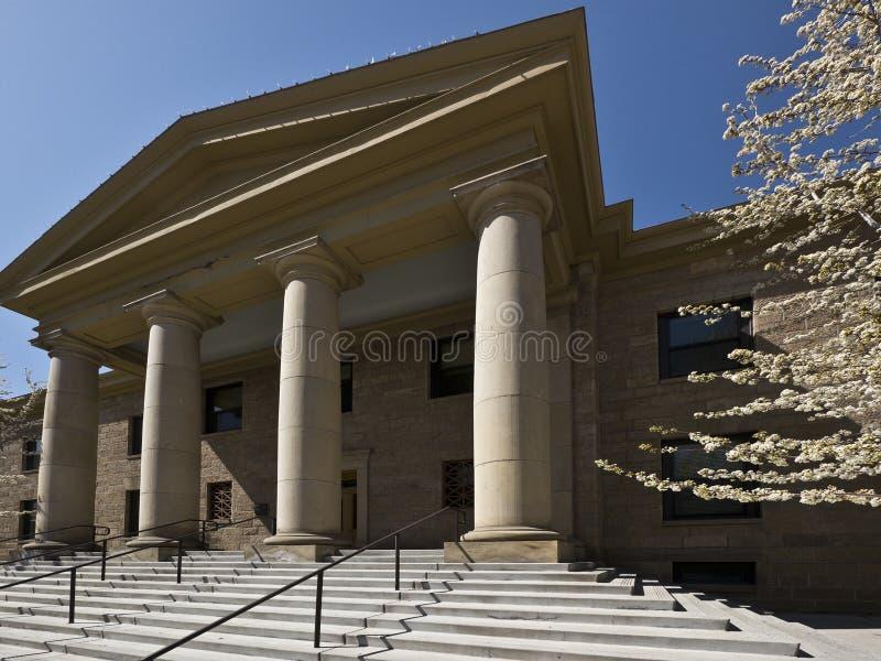 Architettura signorile del tribunale fotografia stock libera da diritti