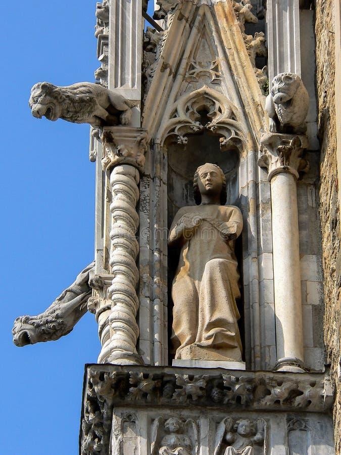 Architettura Stile gotico fotografia stock libera da diritti