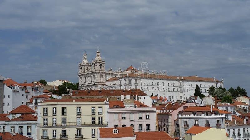 Architettura storica del Portogallo fotografia stock libera da diritti