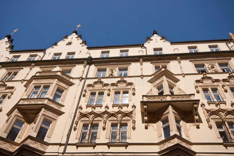 Architettura storica di Prag fotografia stock