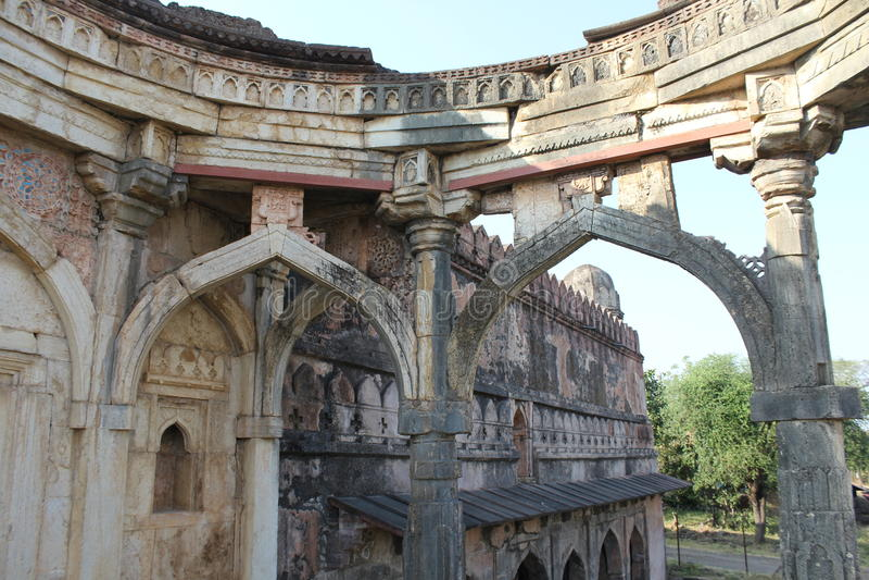 Architettura storica, moschea del mughith del malik immagine stock libera da diritti
