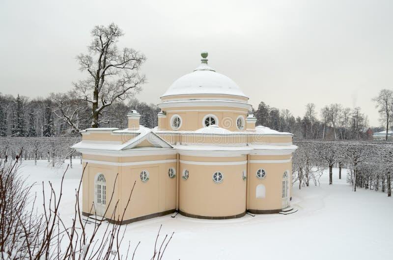 Architettura storica nel parco fotografie stock libere da diritti