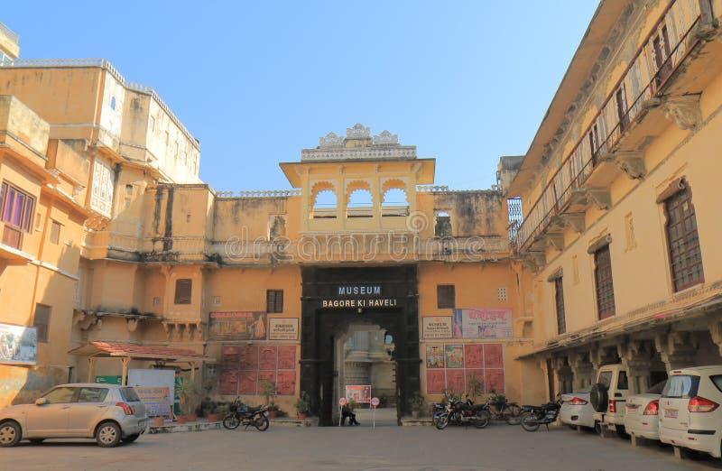 Architettura storica Udaipur India del museo immagine stock libera da diritti