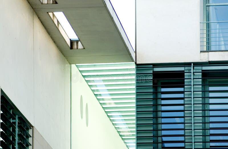 Architettura tedesca moderna fotografia stock libera da diritti