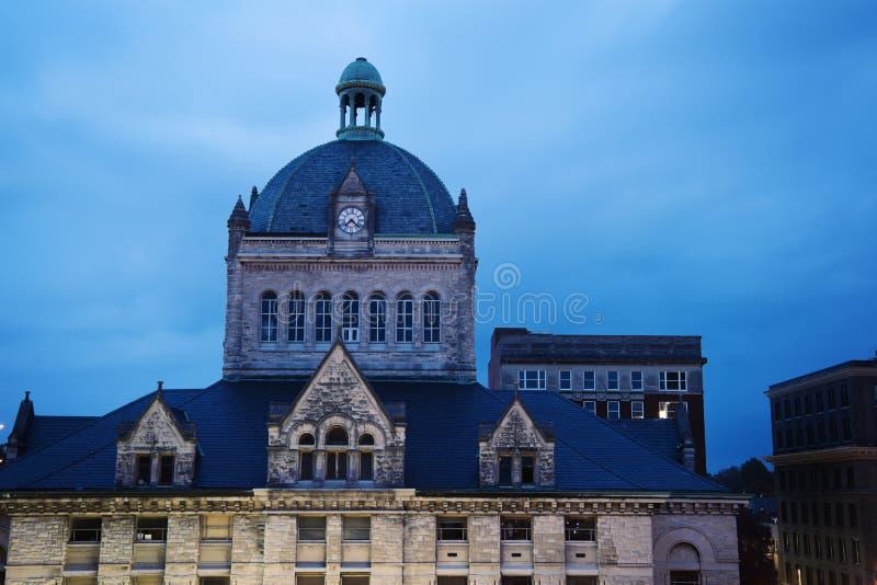 Architettura vecchia di Lexington fotografie stock libere da diritti