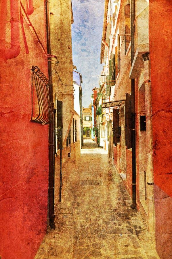 Architettura veneziana fotografia stock libera da diritti