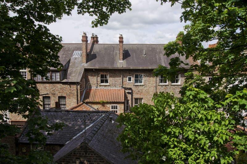 Architettura a York, Regno Unito, Europa immagini stock libere da diritti