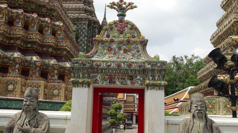 architeture细节在曼谷玉佛寺的 免版税库存图片