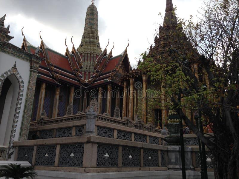 architeture细节在曼谷玉佛寺的 库存照片