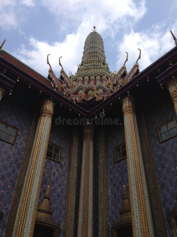 architeture细节在曼谷玉佛寺的 免版税库存照片