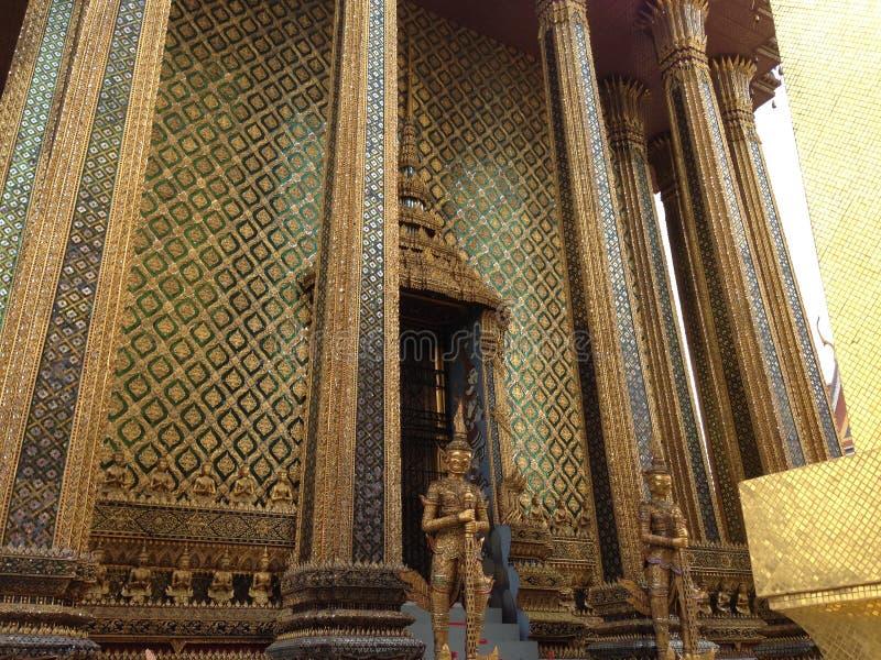 architeture细节在曼谷玉佛寺的 图库摄影