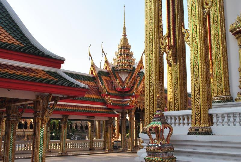 Architeture Boeddhistische de Bouwwat buakwan tempel in Bangkok Thailand stock afbeeldingen